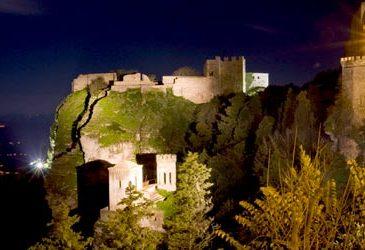 Pepoli Tower and Castello de Venere in Erice Sicily