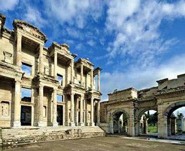 The Ephesus Library in Turkey