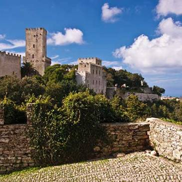 The Fortress of Erice in Sicily